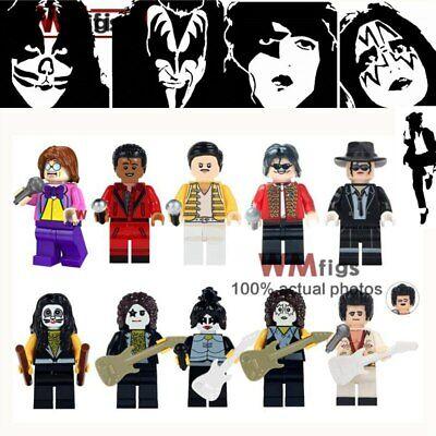 Michael Jackson Donald Trump Elvis Aron Halloween Kiss Horror Movie Figures (Elvis Halloween)
