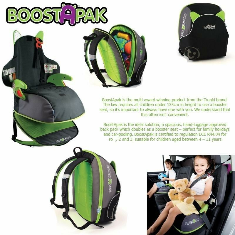Trunki BoostaPak Child Booster Seat Backpack