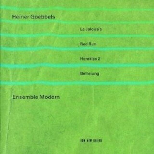 """HEINER GOEBBELS """"JALOUSIE/RED RUN/HERAKLES/+""""  CD NEU"""