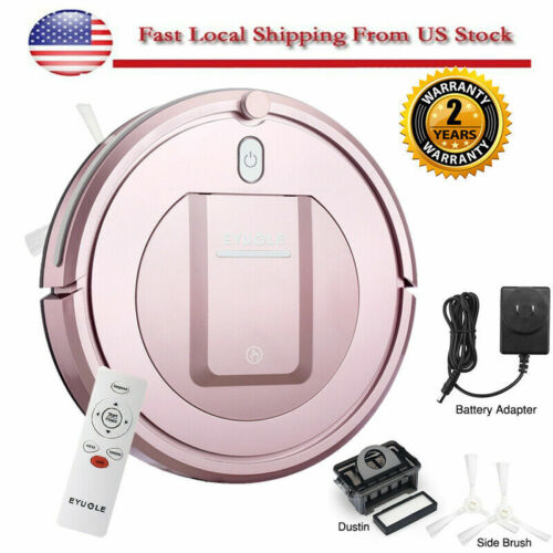 Smart Robot Vacuum Cleaner HEPA Anti-collision 3Cleaning Mod
