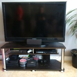 46 inch flatscreen tv with stand