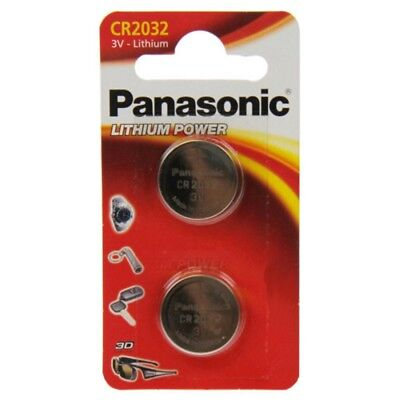 Cr2032-lithium-batterie (2x CR2032 Lithium-Batterie 3,0 Volt 220mAh ø20x3,2mm 3V Blisterpack Panasonic)