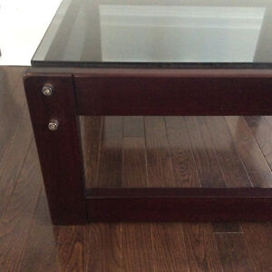 Mid Century Modern Percival Lafer Solid Brazilian Rosewood Table Kitchener / Waterloo Kitchener Area image 4