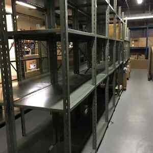 Used warehouse shelving and store fixtures available