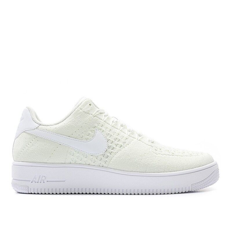 the latest 3399f d2122 Details about Nike Men Air Force 1 Ultra Flyknit Low Sneakers White  817419-101 US7-11 04'