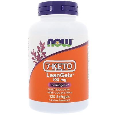 Now Foods, 7-Keto LeanGels, 100 mg, 120 Softgels