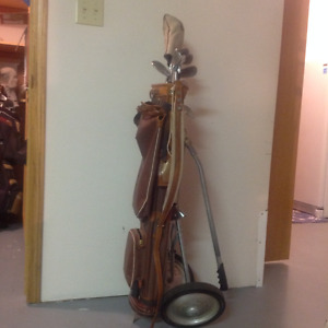 MEN'S KLUNKER GOLF CLUBS