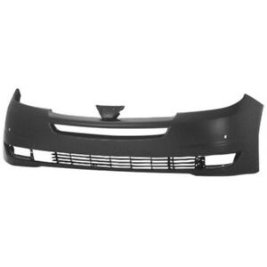 New Painted 2004-2005 Toyota Sienna Front Bumper & FREE shipping