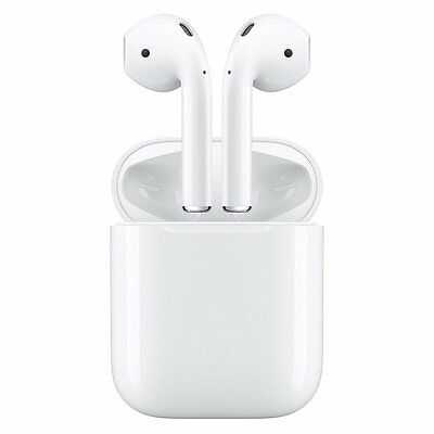 Apple AirPods Bluetooth Headset for iPhones w/iOS 10 or Later White - (Read)  VG