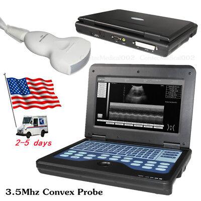 Us Portable Ultrasonic Ultrasound Scannermachine 3.5mhz Convex Transducer Probe