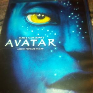 Avatar. blue ray.