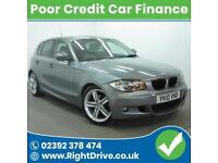 POOR CREDIT? NEED A CAR? BMW 120 2.0TD d M Sport Auto 10-2010 (Diesel)
