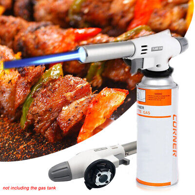 Butane Torch Gas Soldering Iron Blow Lighter Burner Camping Welding BBQ Tool