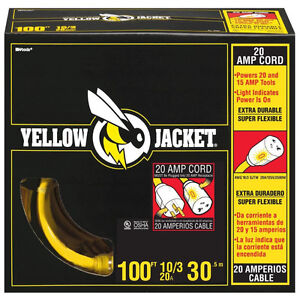 100ft Yellow Jacket extensions cord