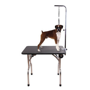 Dog grooming kijiji in oshawa durham region buy sell save pet portable travel foldable grooming table dog cat grooming solutioingenieria Choice Image