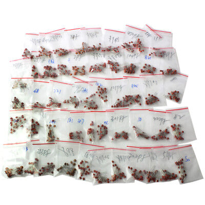1000pcs 50 Values 50v Ceramic Capacitor Assorted Kit Assortment Set Tool Hot I