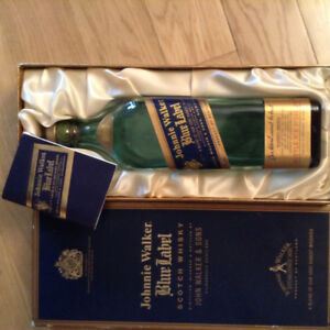Empty Bottle - Johnny Walker Blue Label
