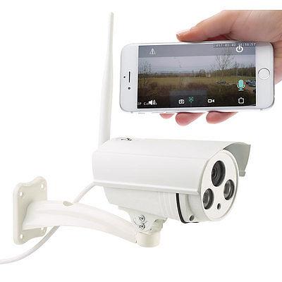 7links WLAN-IP-Überwachungskamera mit 720p HD, IR-Nachtsicht, SD-Recording