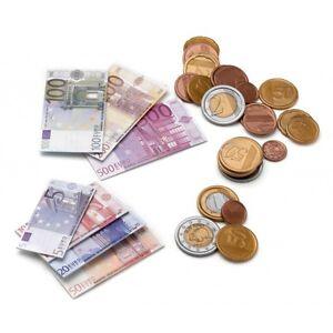 Toy Company 00280 EURO Spielgeld 95-tlg. Münzen und Scheine für Kaufladen