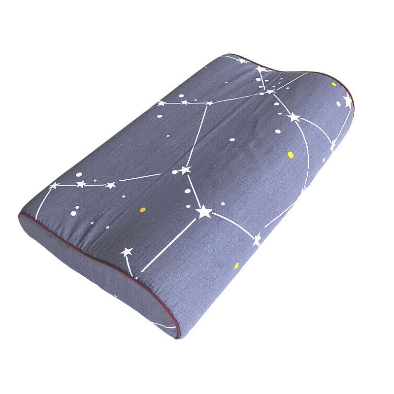 Cotton Pillowcase Pillow Cover Bed Sleeping for Memory Foam Pillow Latex Pillow