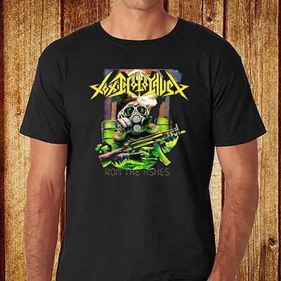 New Toxic Holocaust Metal Rock Band Mens Black T Shirt Size S 3Xl Free Shipping