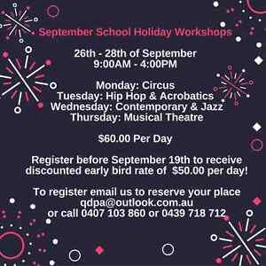 September School Holiday Dance Workshops Thorneside Redland Area Preview