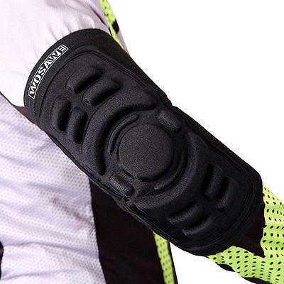 Elbow Support GEL Silicone Pads Protective Gear  for Skateboard Skating Cycling