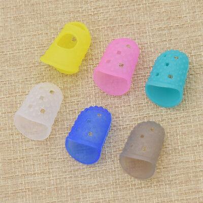 Fingerschutz Hilfreich Handwerk Daumen Nähen Nadeln 4x Fingerhut Zubehör Neu ()