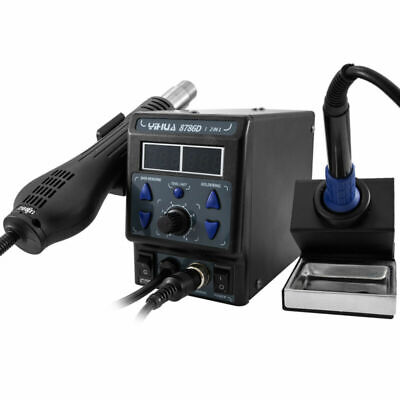 8786d I Upgrade Rework Station Digital Display Iron Smd Heat Hot Air 700w 2021