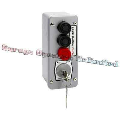 Mmtc 3blm-bc Nema 4 Exterior Three Button With Best Cylinder Equivalent Lockout