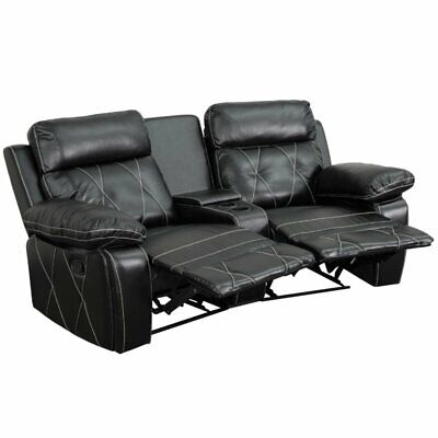 Real Comfort 2Seat Recliner in Black