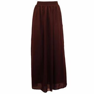 BRAND NEW Dark Plum Long Chiffon Maxi Skirt Kitchener / Waterloo Kitchener Area image 2