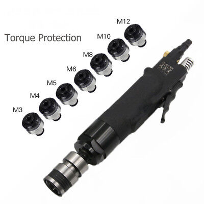 200rpm Pneumatic Tapping Machine Tapper Tool Torque Protected 7pcs Chucks