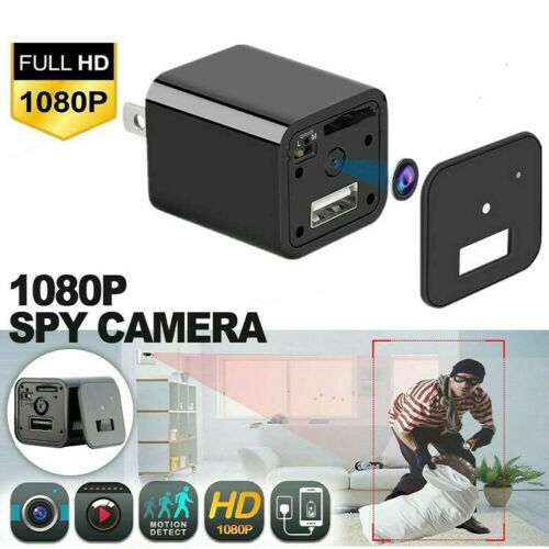 New Mini HD 1080P Home Nanny Security Camera USB Wall Charge