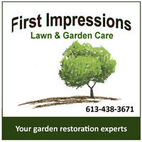 LAWNS, GARDENS, PATIOS AND WALKWAYS - SPRING DISCOUNT!