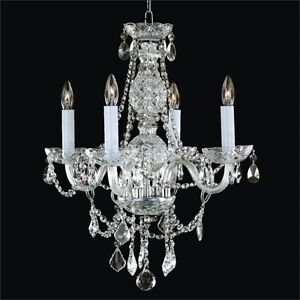 Looking for a 5 or 6 Light Smaller Crystal Chandelier or Parts Strathcona County Edmonton Area image 2