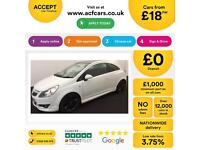 Vauxhall/Opel Corsa FROM £18 PER WEEK!
