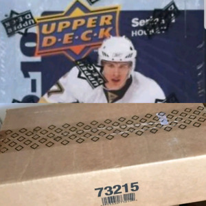 2009/10 UD Hockey Cards (12 Box) Hobby Case Tavares Young Guns