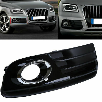 Front Right Bumper Grill Grille Fog light Cover For AUDI Q5 Facelift 2013-2016