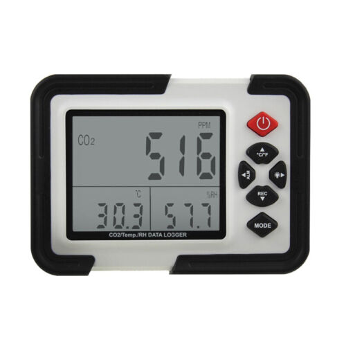 HT-2000 Digital CO2 Meter Monitor Gas Analyzer Temperature Humidity Tester