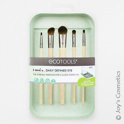 """1 ECOTOOLS Daily Defined Eye Kit 5 Brush Set """"ET-1627"""" *Joy'"""