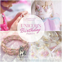 Woodstock Unicorn Girl's Birthday Parties for girls ages 6, 7, 8
