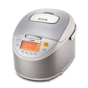 Tiger JKT-B18U-C Rice Cooker with Oatmeal Cooker, 10 Cup