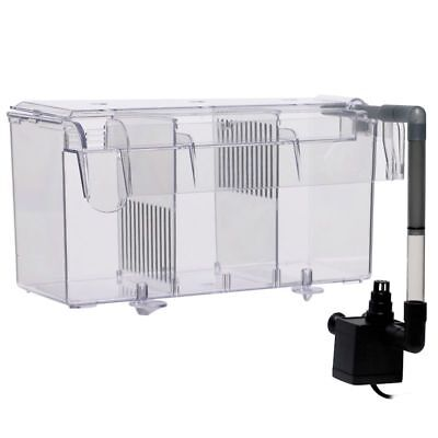 (Finnex Hang-On-Back  Breeding Box - Refugium, Large with Powerhead)