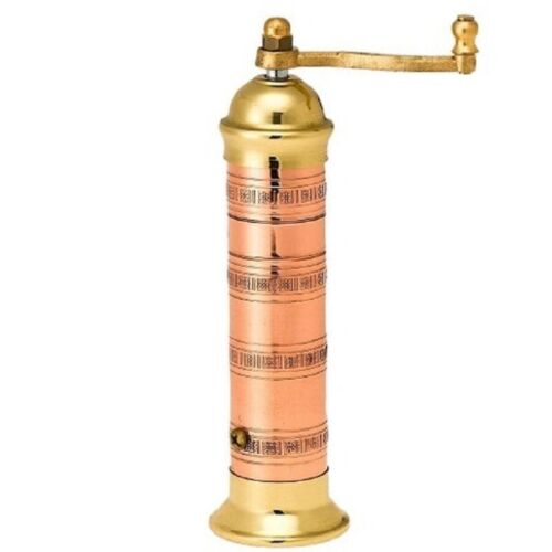 Copper-Brass Pepper Mill Alexander #412 7″