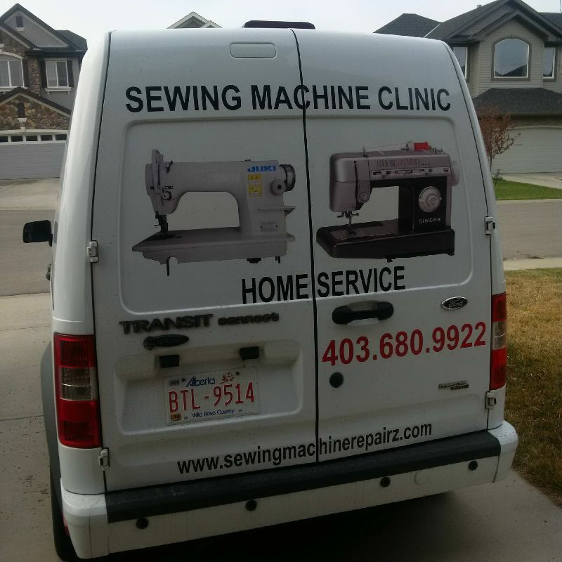 SEWING MACHINE REPAIR THE SEWING MACHINE CLINIC Other Calgary Unique Fix Sewing Machine Repairs