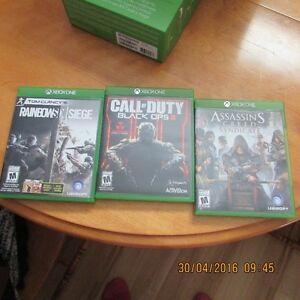 3 Games for XBOX ONE system Peterborough Peterborough Area image 1