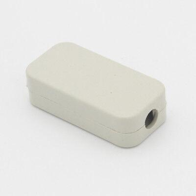 1pcs White Plastic Enclosure Project Case Diy Junction Box 402011mm