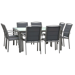 Outdoor dining table with chairs Canada Bay Canada Bay Area Preview
