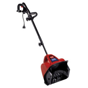 Slighty Used Power Shovel 12 in. 7.5 Amp Electric Snow Blower
